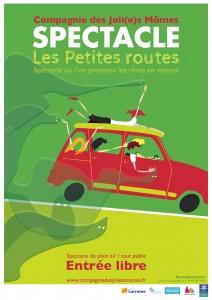 Affiche Les Petites Routes
